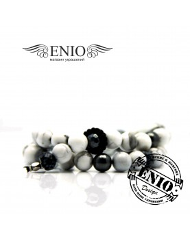 Браслет из натуральных камней ENIO DESIGN № ED-0249-SH фото 2