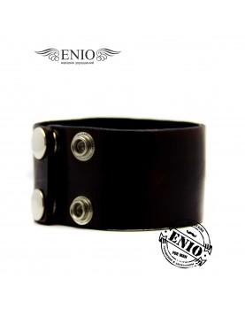 Кожаный браслет Respect Steel 020188 фото 2