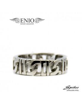 Стальное кольцо Spikes R-Q9013 фото 1