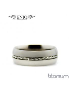 Титановое кольцо Spikes 010168 фото 1