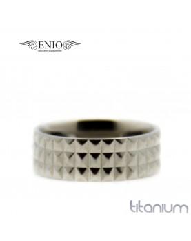 Титановое кольцо Spikes 010170 фото 1