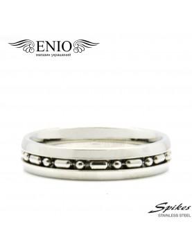 Стальное кольцо Spikes R-7061M фото 1