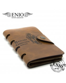 Мужской Бумажник Bailini Long Style в стиле Дикого Запада № PS-5042-BRN фото 1