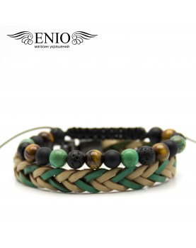 Сет из двух браслетов ENIO DESIGN № ED-0326-SH  фото 1