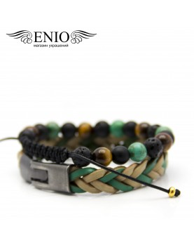 Сет из двух браслетов ENIO DESIGN № ED-0326-SH  фото 2