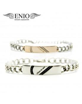 Парные браслеты для влюбленных № NL-6025-4T фото 2