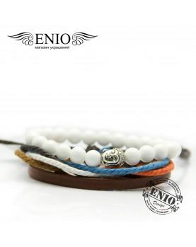 Сет из двух браслетов ENIO DESIGN № ED-0405-SH  фото 2