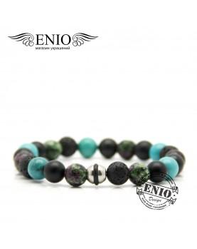 Браслет из натуральных камней ENIO DESIGN № ED-0408-SH  фото 1