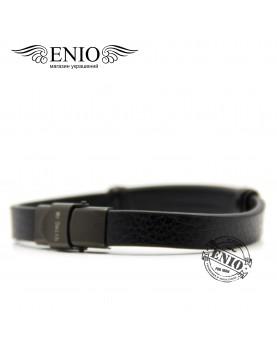 Кожаный браслет для гравировки MR.SMITH № MS-6054-BLS  фото 2