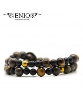 Браслет из натуральных камней ENIO DESIGN № ED-0421-SH фото 1