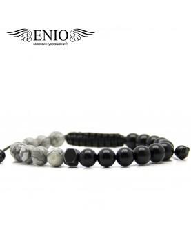 Браслет из натуральных камней ENIO DESIGN № ED-0416-SH фото 1