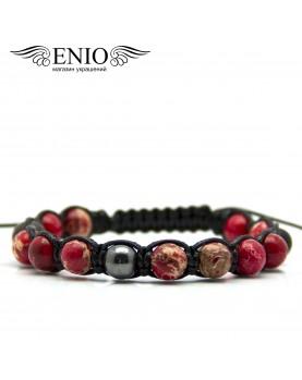 Браслет из натуральных камней ENIO DESIGN № ED-0414-SH фото 1