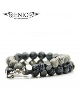 Браслет из натуральных камней ENIO DESIGN № ED-0413-SH фото 3