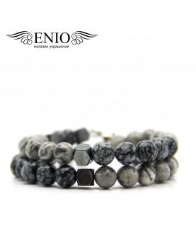 Браслет из натуральных камней ENIO DESIGN № ED-0413-SH фото 1