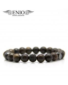 Браслет из натуральных камней ENIO DESIGN № ED-0412-SH  фото 1