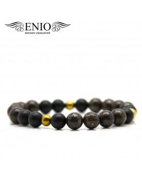 Браслет из натуральных камней ENIO DESIGN № ED-0411-SH  фото 2