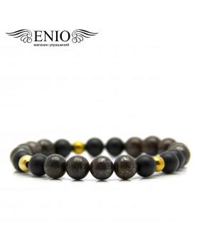 Браслет из натуральных камней ENIO DESIGN № ED-0411-SH  фото 1
