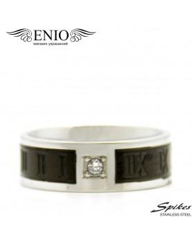 Стальное кольцо Spikes R-H1655-Mфото 1