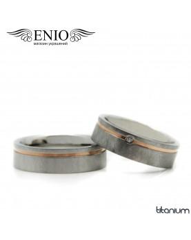 Парные кольца SPIKES R-TI-1952 Фото 1