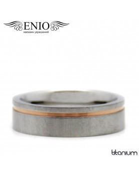 Титановое кольцо Spikes R-TI-1952M фото 1