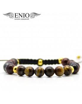 Браслет из тигрового глаза ENIO DESIGN ED-0213-SH фото 1