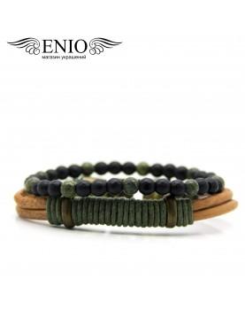 Сет из двух браслетов ENIO DESIGN ED-0501-SH фото 1
