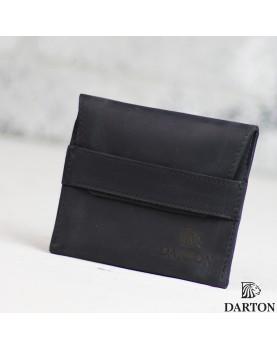 Мужской мини кошелек DARTON POCKET BlackSteel фото 1