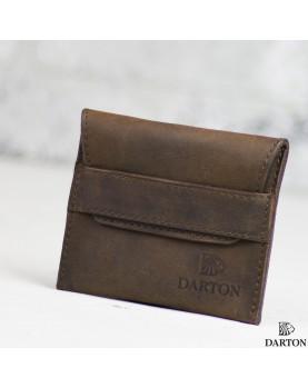 Мужской мини кошелек DARTON POCKET Chocolate фото 1