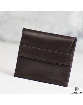 Мужской мини кошелек DARTON POCKET DarkChocolate фото 1