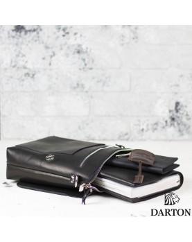 Сумка планшет через плечо DARTON Alfred Black Onyx фото 4
