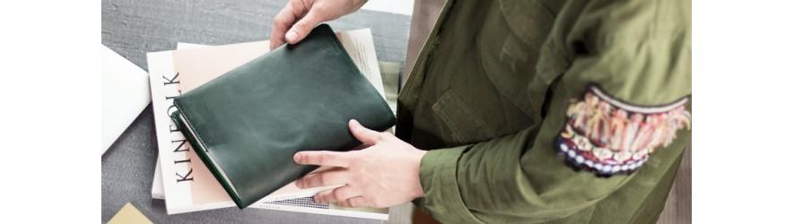 Кожаные блокноты ручной работы купить в Алматы