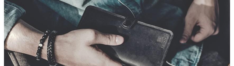 Купить мужские портмоне из кожи для денег недорого в Алматы в магазине